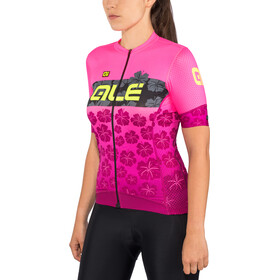 Alé Cycling PRS Ibisco SS Jersey Damen prune-flou pink